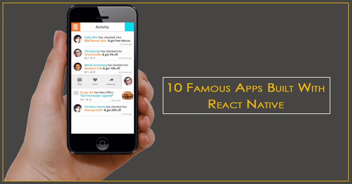Famous Apps Built With React Native -